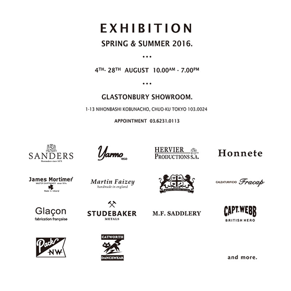 2016 SPRING & SUMMER EXHIBITION