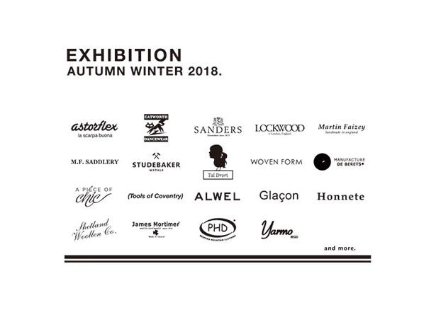 2018 A/W GLASTONBURY 展示会