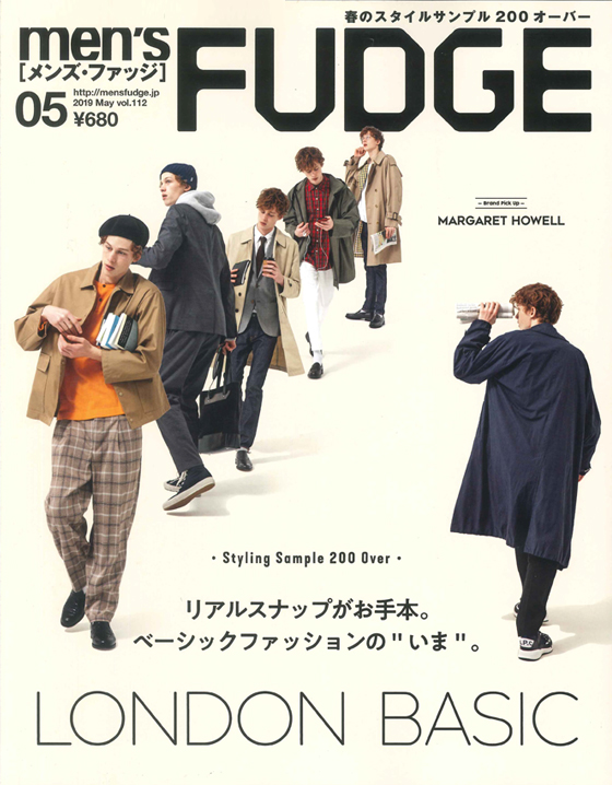 「men's FUDGE」
